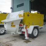 Hire concrete pump  Trailer mounted S63